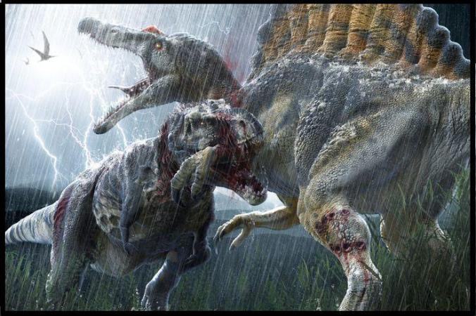 T-Rex vs. Spinosaurus